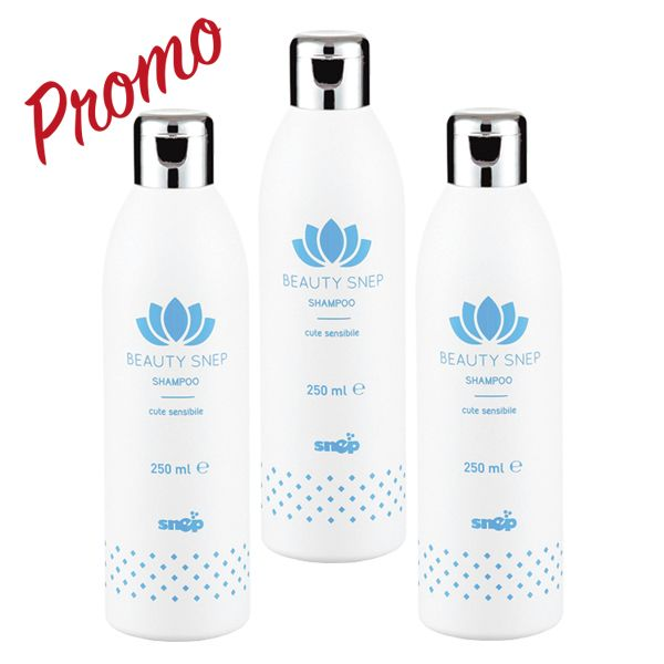 Shampoo cute sensibile 250ml promo 3 bottiglie