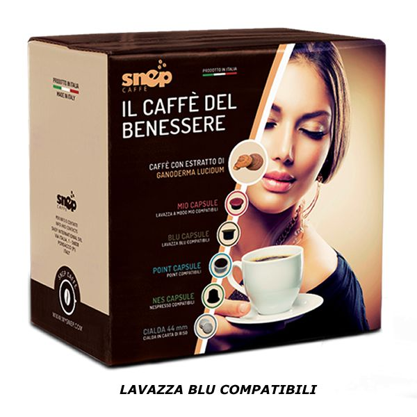 BLU SNEP Capsule di caffe' (Lavazza blu compatibili) NON DISPONIBILE / NOT AVAILABLE
